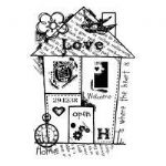 Home Collage Clear Woodware Stamp (FRS612)